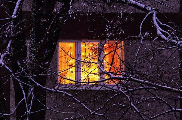 а в доме горит огонек полуавтоматом идет