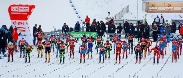 Серебро и бронза биатлонистов рф в масс-стартах на этапе кубка мира