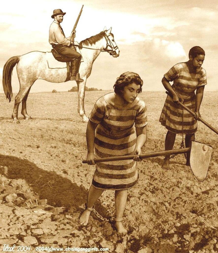 девушки в кандалах фото