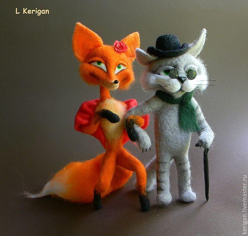 лиса алиса и кот базилио картинка