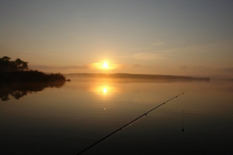 ловля на утренней зорьке