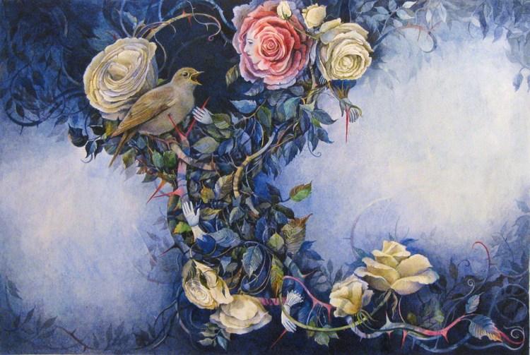 Уайльд роза и соловей