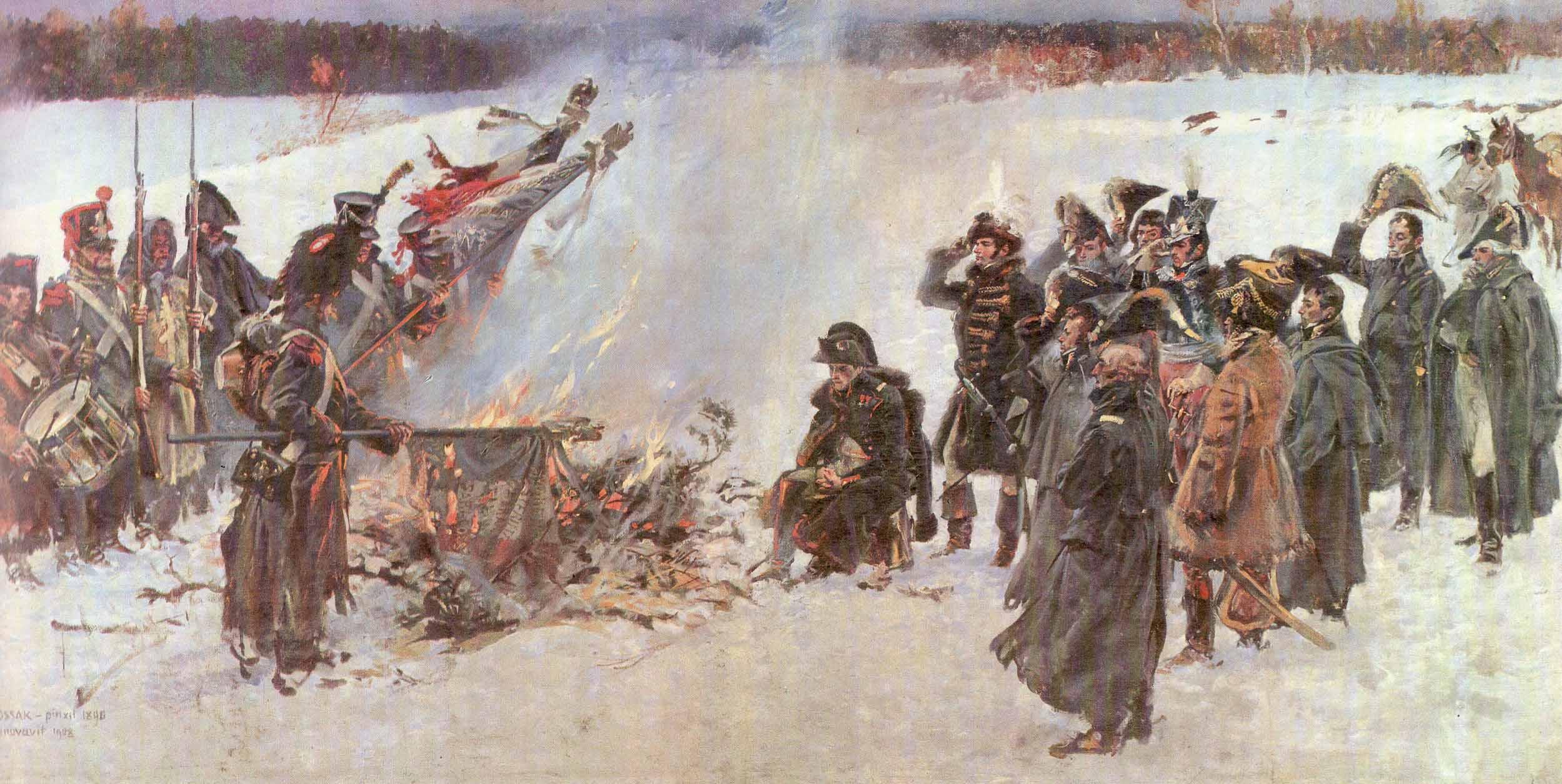 Почему наполеон бонапарт не смог завоевать россию в 1812 год.