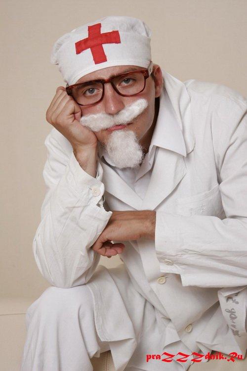 Смешной врач картинки, днем рождения