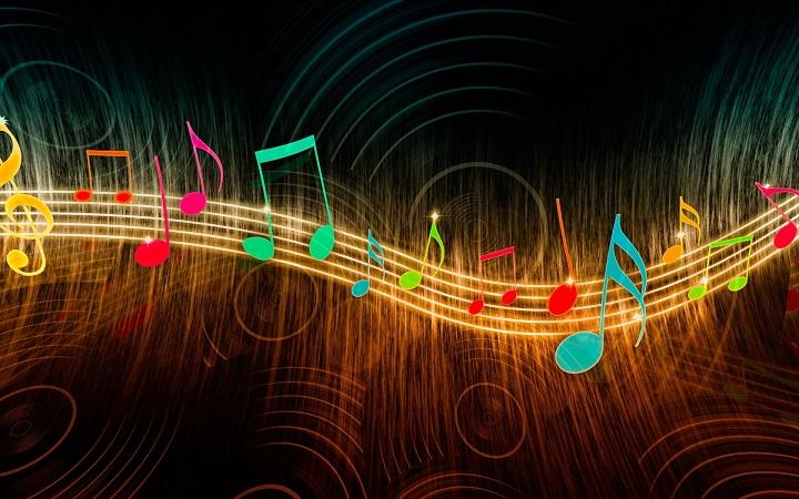 заставка на рабочий стол музыка № 163396 бесплатно