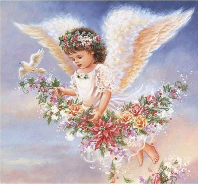 Стихами, открытка с днем рождения ангелочки