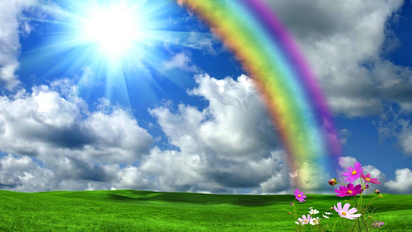 Почему появляется радуга?