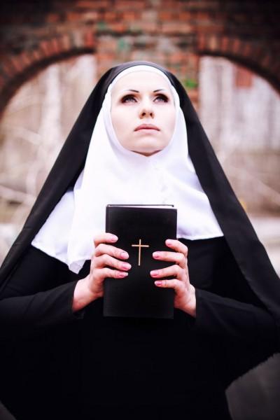 подвязки монахини фото