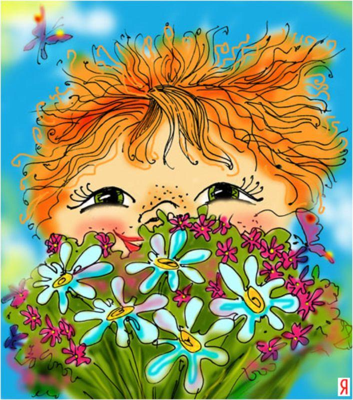 Картинка веснушки на празднике весны каждый день