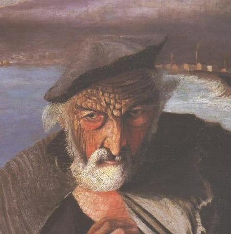 старый рыбак бог