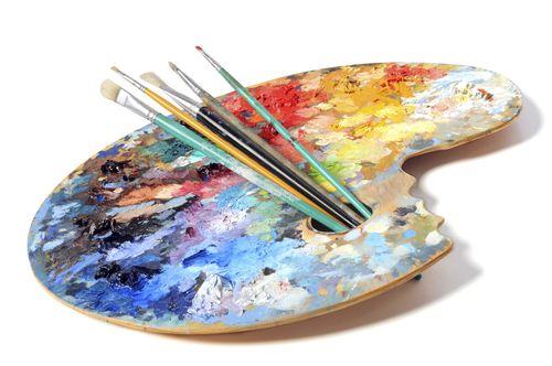 Слова связанные с красками