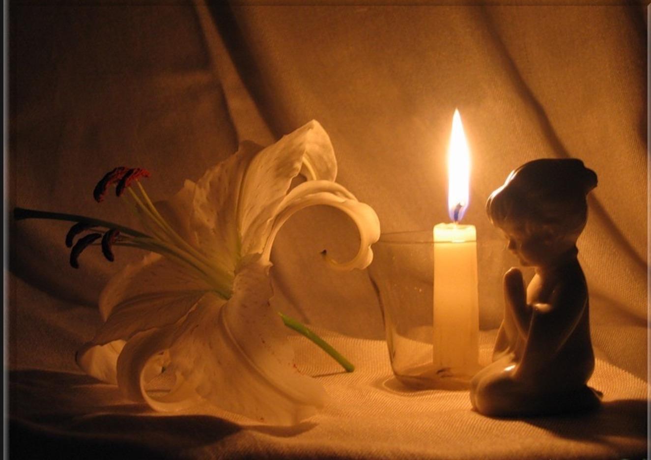 Свеча памяти ребенку фото