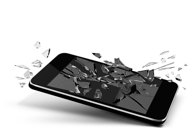 Стих про разбитый телефон