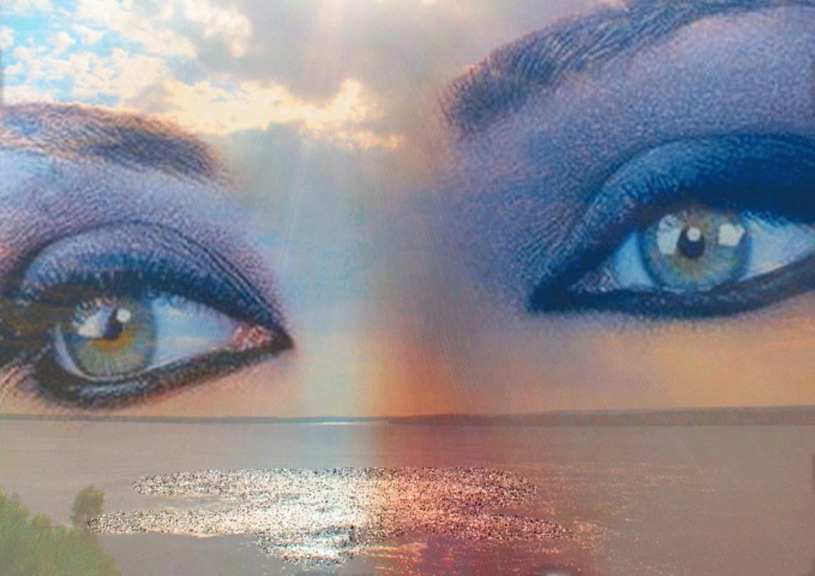 Открытки для голубых глаз, чего можно сделать