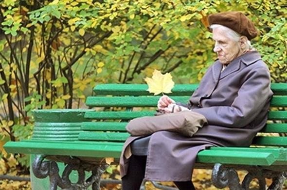 Картинки по запросу Старушка на скамье