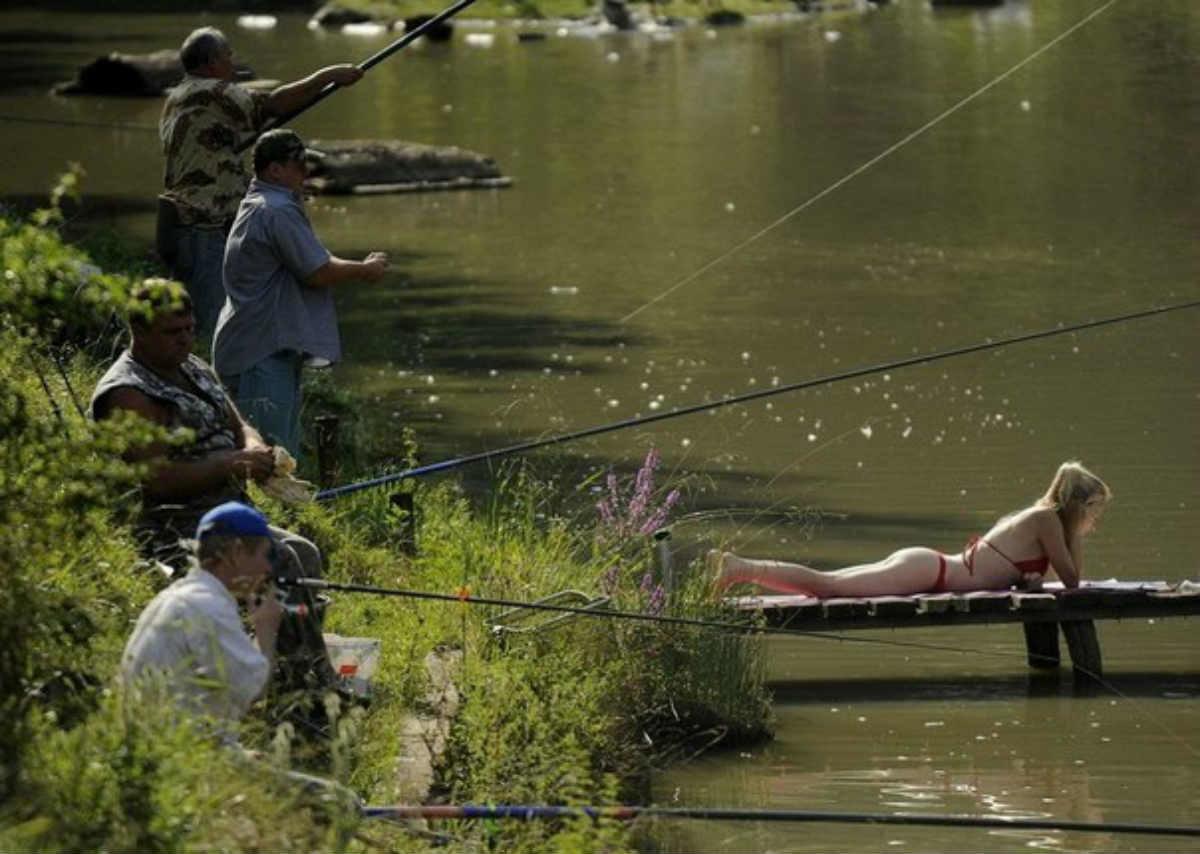 рыбалка заметил