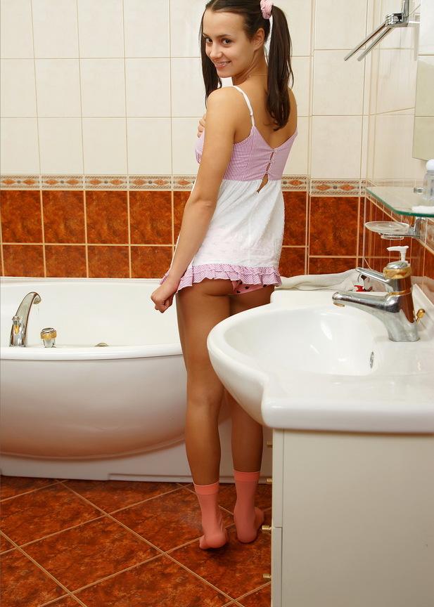 фото молодые в ванной