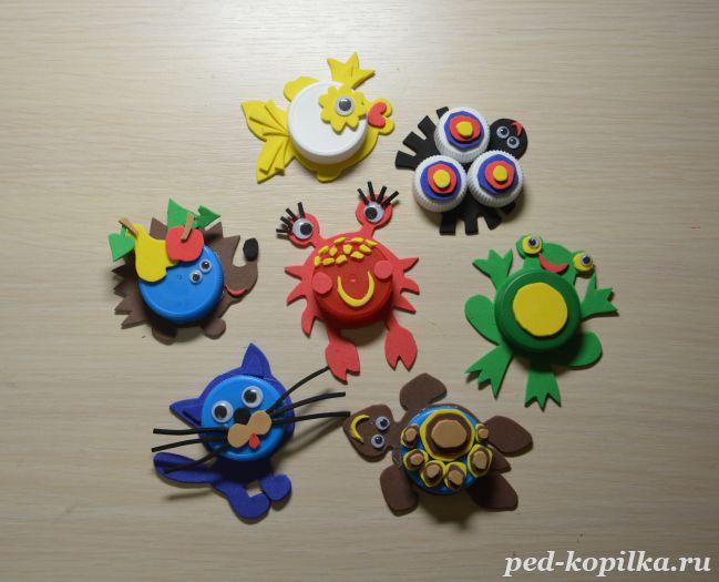 Игрушки из бросового материала своими руками фото