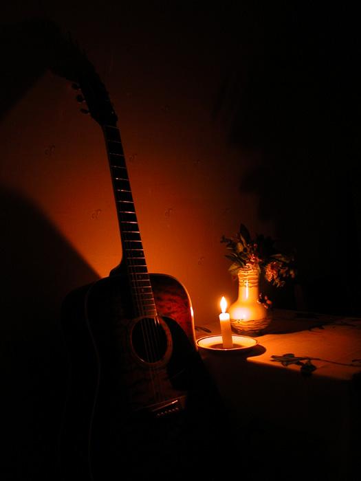 свечи фото гитара