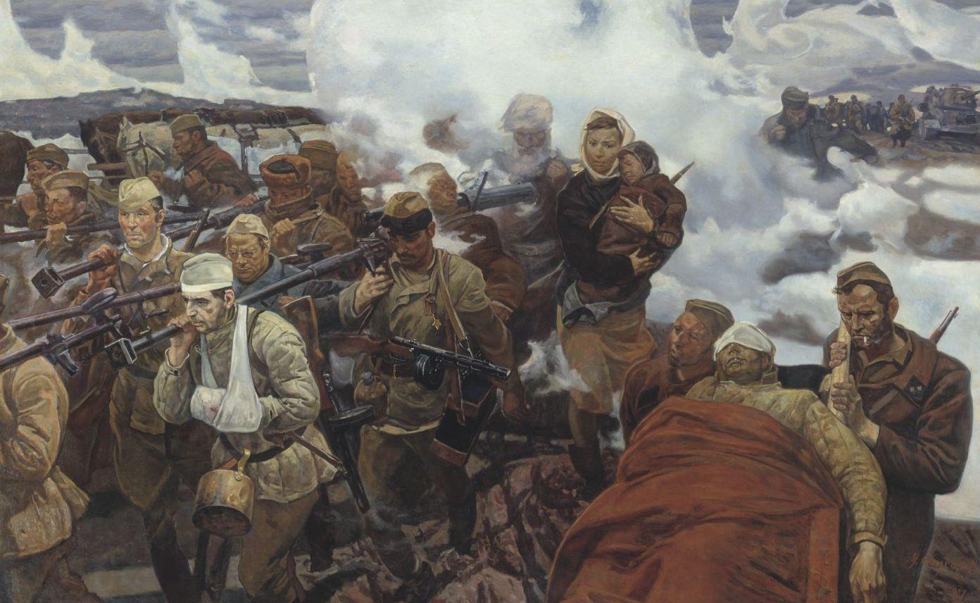 Солдаты минувшей войны слова открыла было