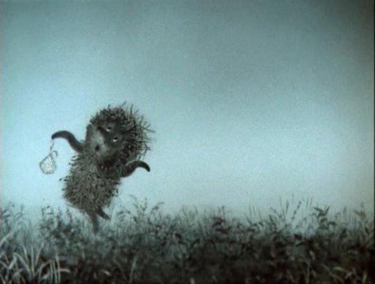 Animals, landscapes, ёжик в тумане, grass, fog, олени, лоси - #80451 тумане, landscapes, ёжик, олени, лоси