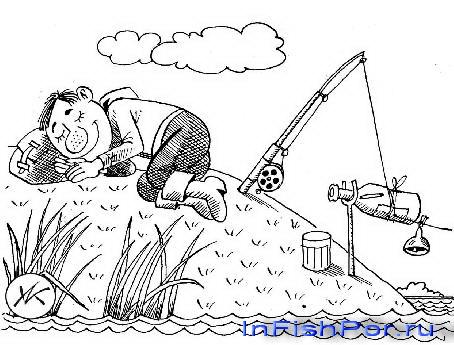 рисунки на рыболовов наше
