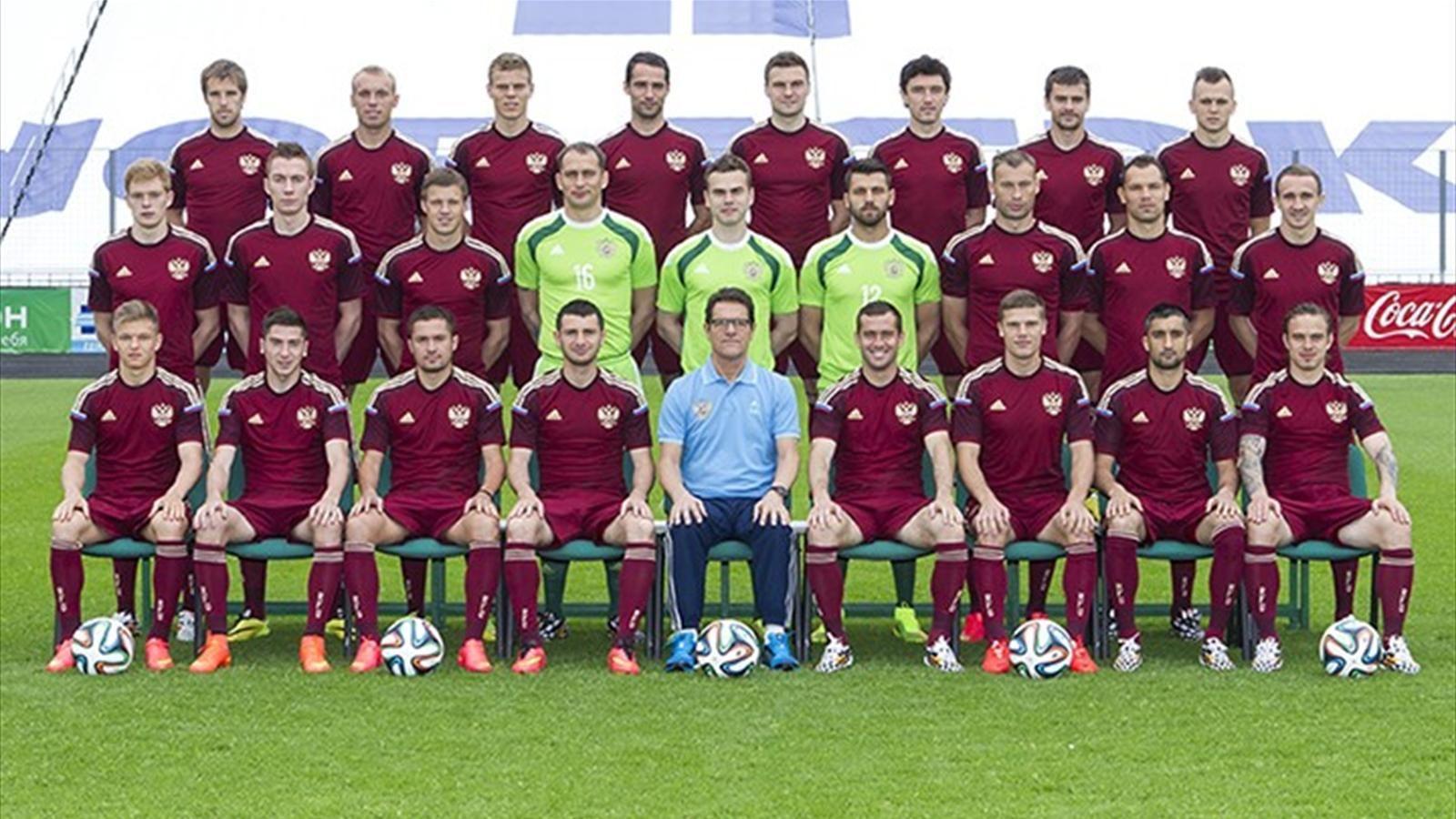 Фото сбороной по футболу россии 5