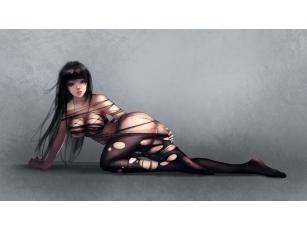 Порванное платье картинка
