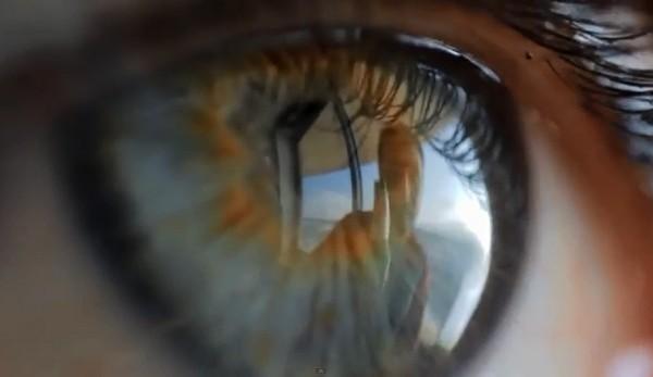 Как сделать с отражением в глазах