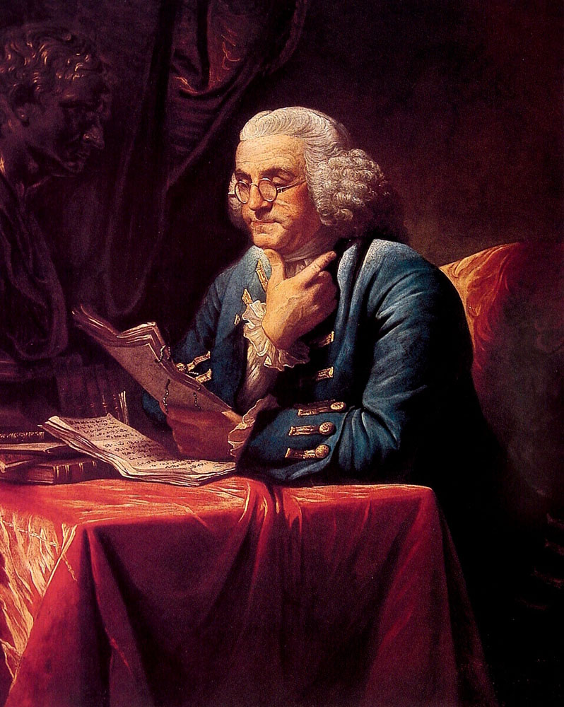 the life and significant works of benjamin franklin