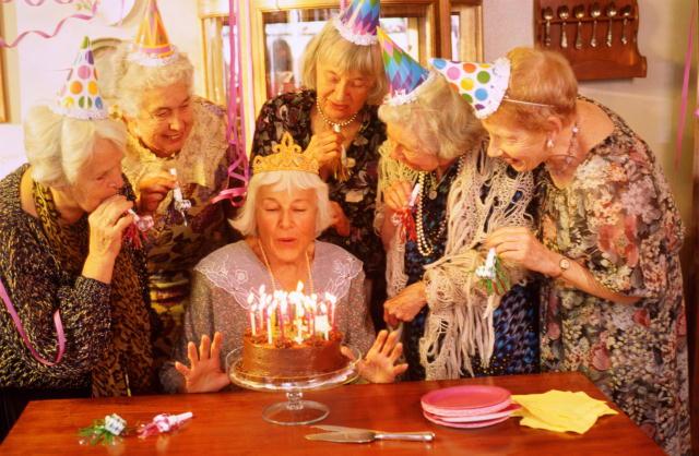 Конкурс для бабушек на юбилей