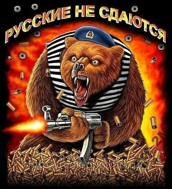 Смешные картинки русские не сдаются, открытка