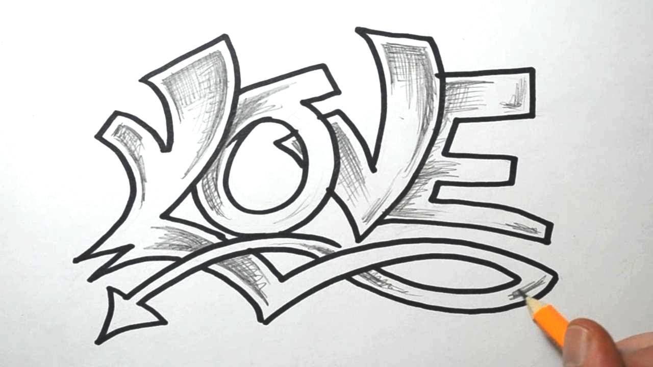 Как на рисовать красиво имя
