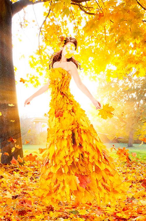 Платья для осень