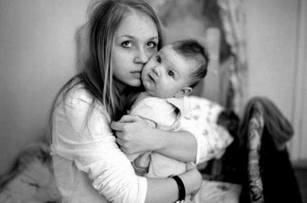 фото молодёньких мам
