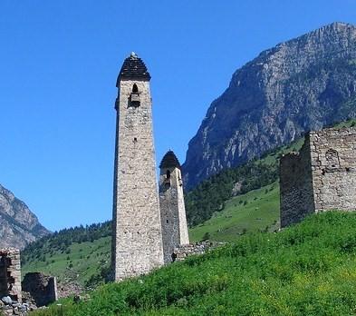 Ингушская башня своими руками