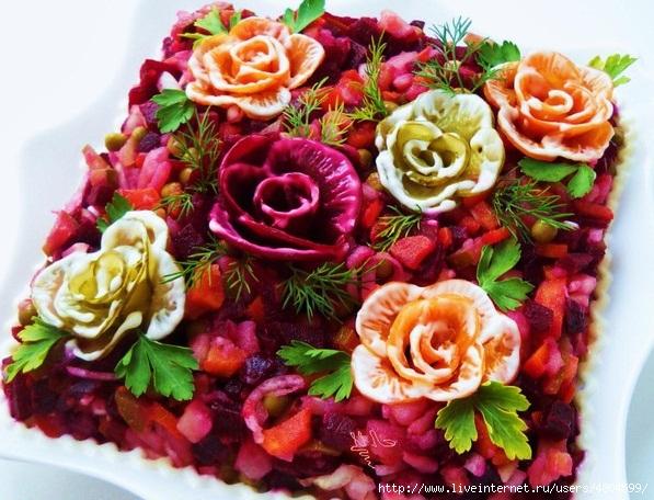 Фото салат бегемотик