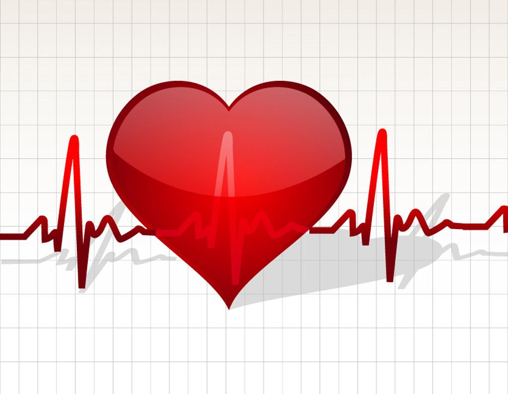 Надписями люблю, картинка с бьющимся сердцем