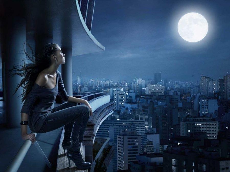 ночь картинки фото