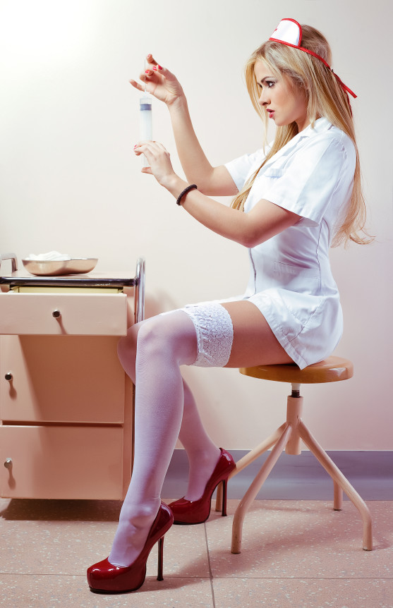 Медсестры в чулках фото
