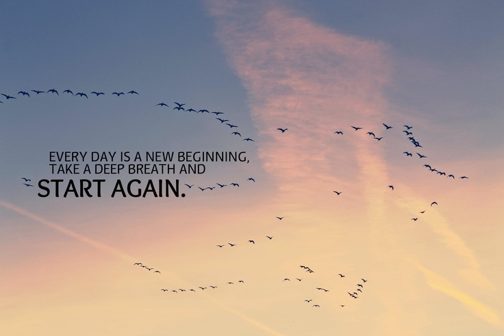 everyday is a new begining Is there a difference between every day and everyday is there a difference between every day and and should be placed at the begining or at the end of a.