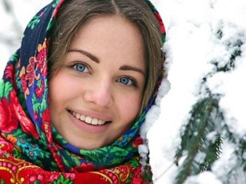 фото русское женщин