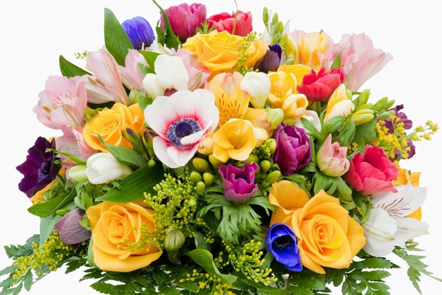 Букет цветов в день рождения картинки