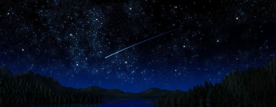 фотографии звездного неба с луной