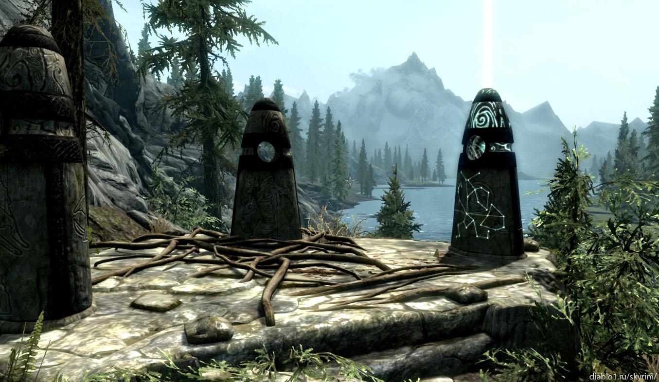 Где находятся камни-хранители в скайриме