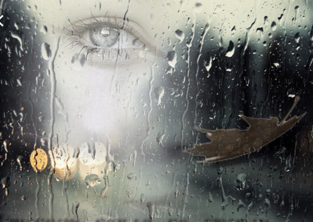 Любви прикольные, открытки со словом дождь