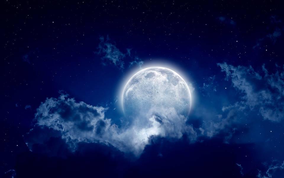Земля над лунным горизонтом