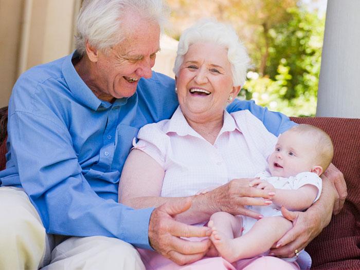Фото и открытки внуков с бабушкой