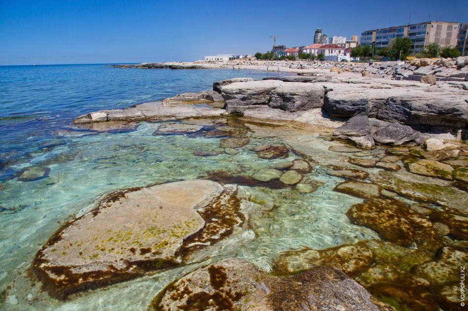 изысканный актау пляж фото нестандартных образом