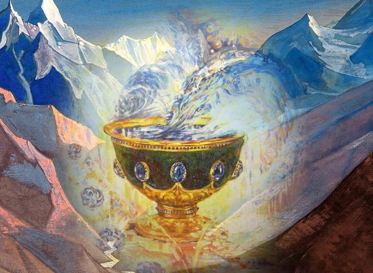 Рисунки чаша грааля